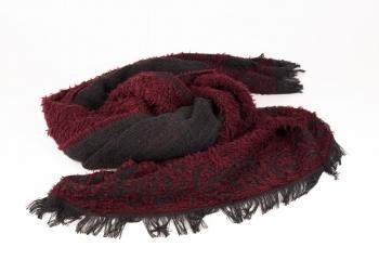sciarpa-pesante-bordo-e-nero