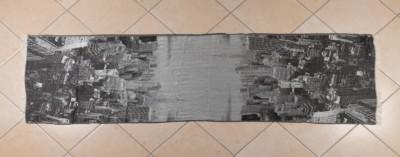 Sciarpa con riproduzione fotografica